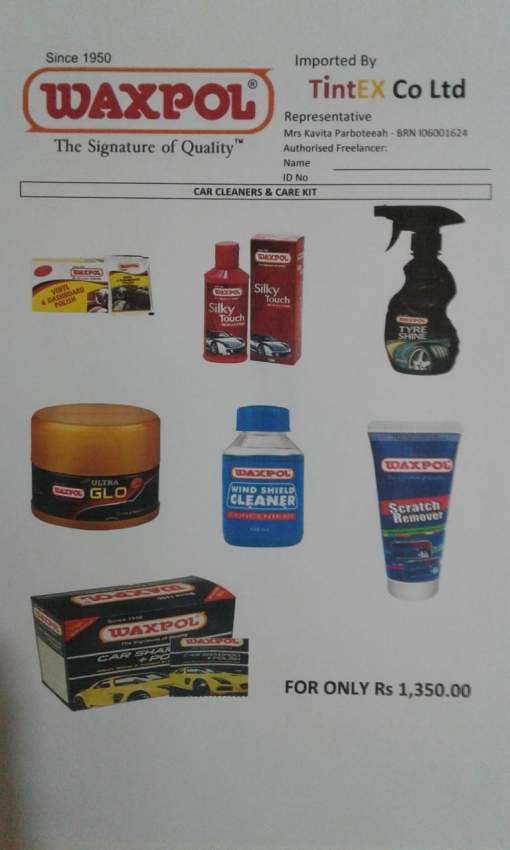 Car Cleaners and Care Products
