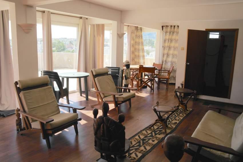 Flic en Flac vente penthouse 2 chambres avec immense terrasse