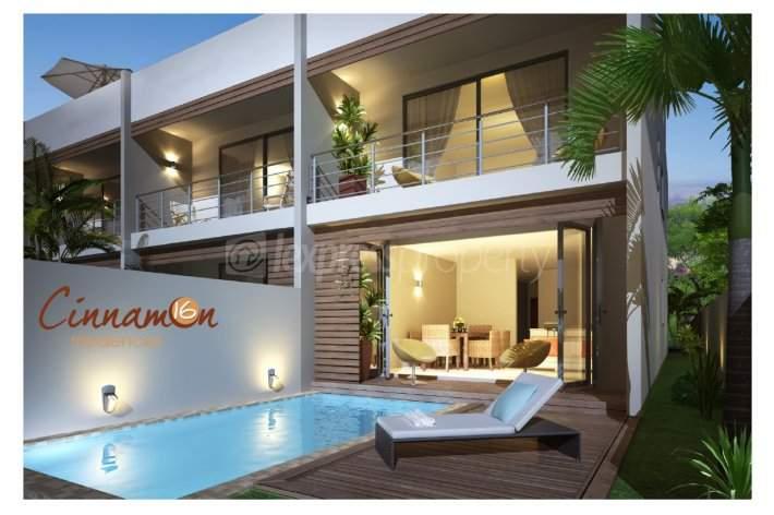 Superbe appartement en duplex 3 chambres, avec piscine privé