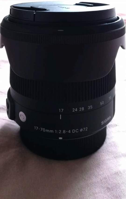 Sigma 17 -70mm  (nikon mount)