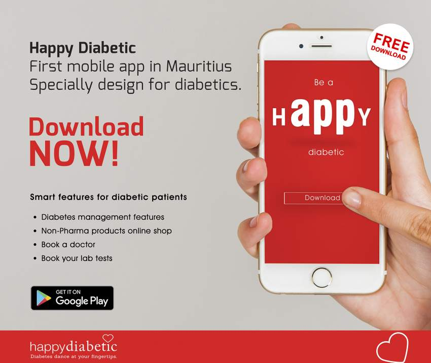 Happy Diabetic Mobile Application