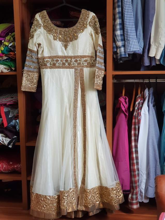 White indian gown from Season's shop Mumbai