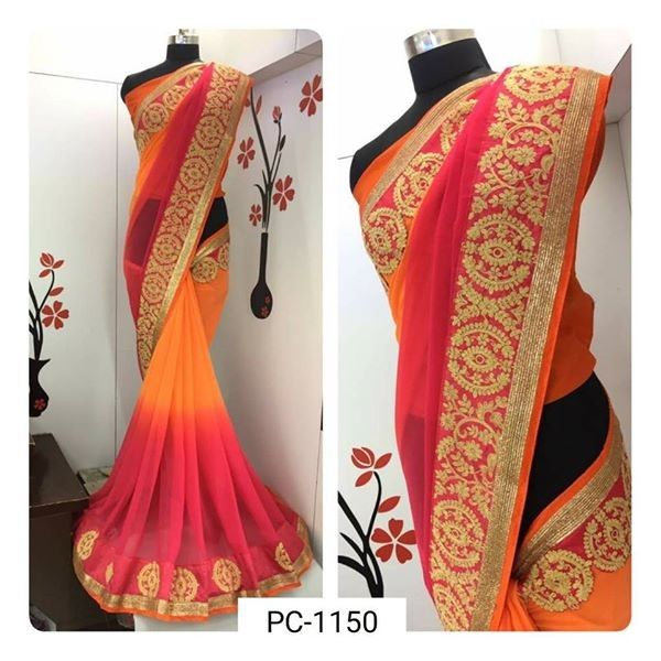 SAREE GEORGETTE for sale - Dresses (Women) at AsterVender