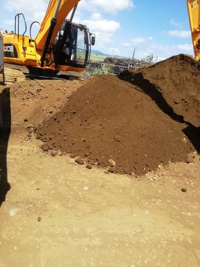 Top soil et remplissage