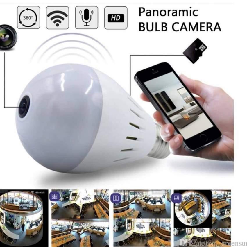 Led Bulb Camera