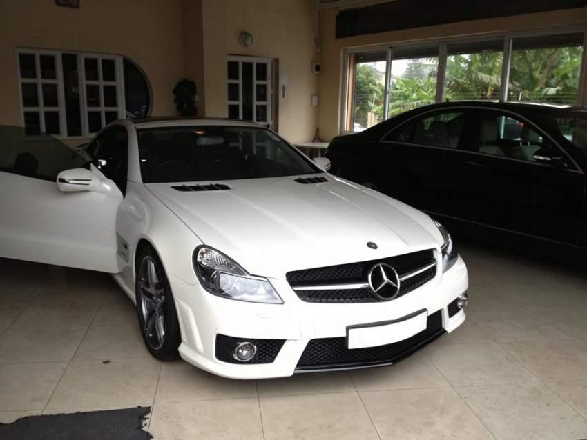 Mercedes Benz SL63 Coupe