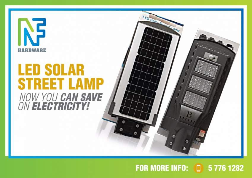 Solar panels flood lights n street lights with sensor