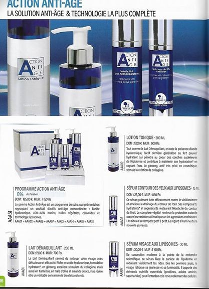 Action Anti âge - Cream on Aster Vender