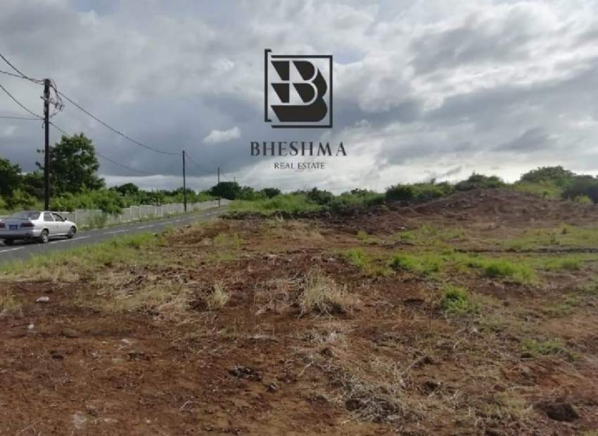 Plot for sale in Royal Road Grand Gaube, near Seaside and Mythic PDS - Land at AsterVender
