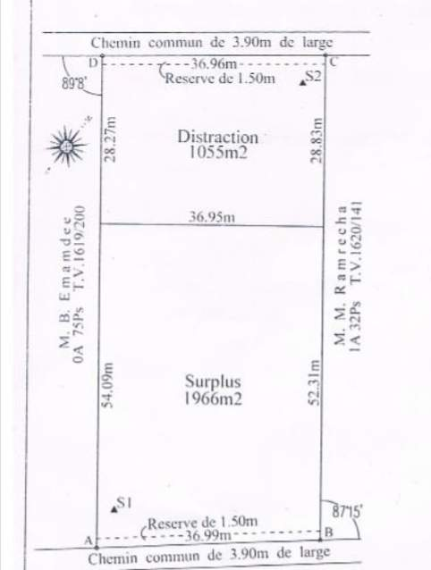 Industrial/Commercial plot for sale in Beau Plateau, Goodlands.  - Land at AsterVender