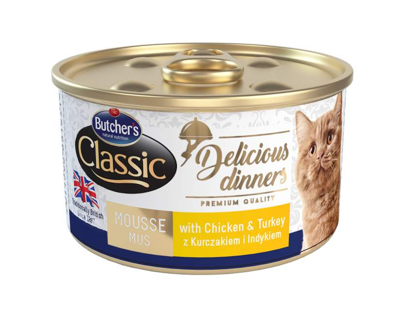 BUTCHERS CHICKEN MOUSSE FOR CATS