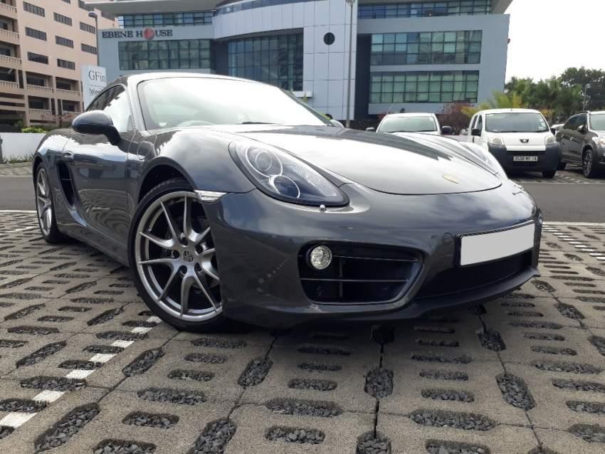 2015 Porsche Cayman 2.7