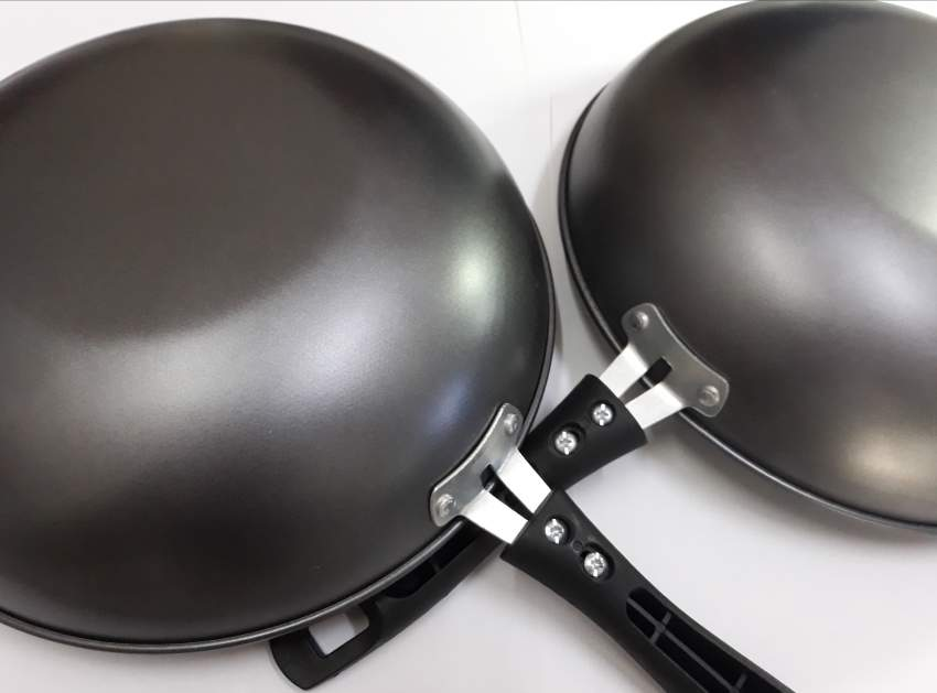 Stainless steel Pan non stick