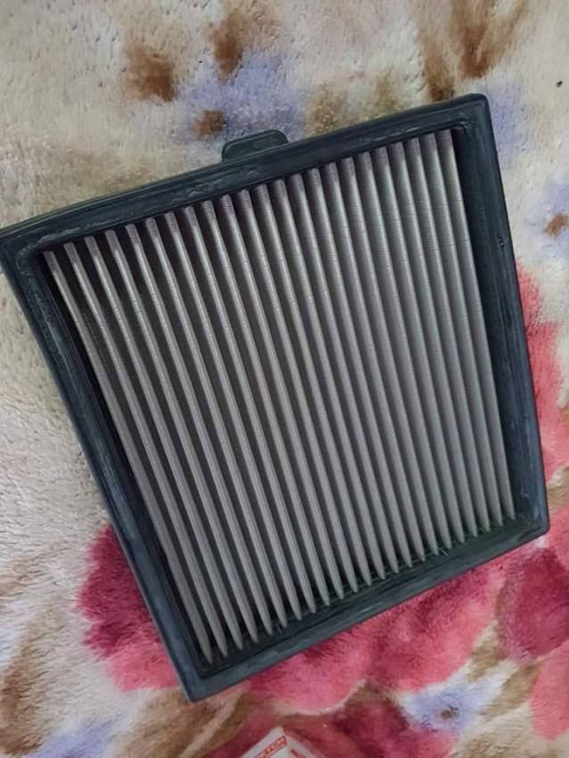 Isuzu Brake pads and air filter