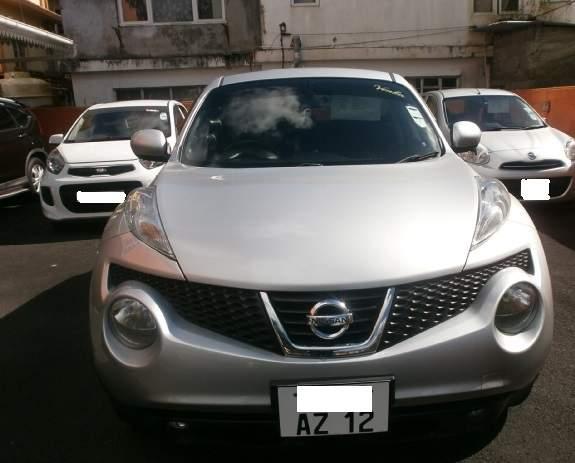 Nissan Juke August 2012 1490cc