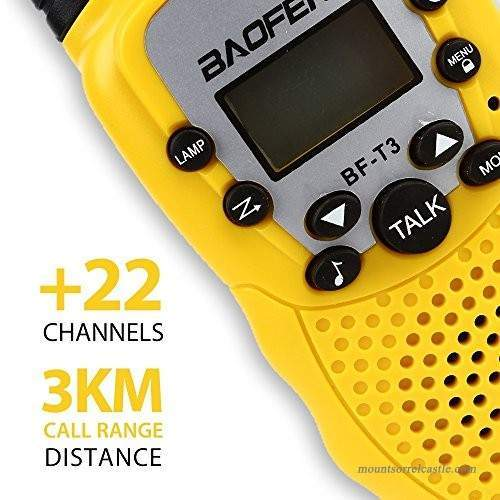 Walkie Talkie - Baofeng BF-T3 (ONLY 1 LEFT)