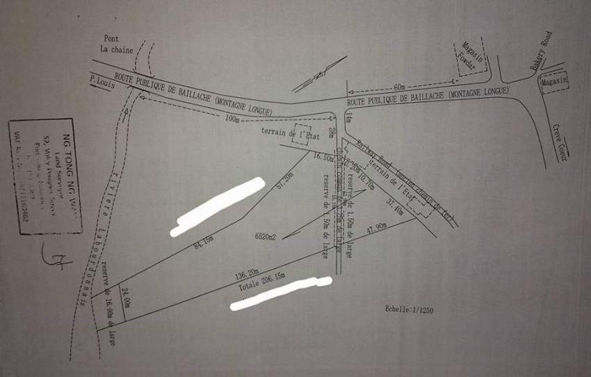 Land for sale north 30 perches