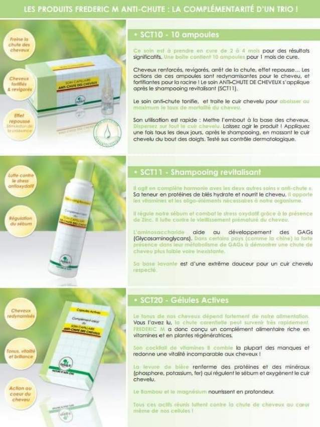 Federic M Hair Treatment