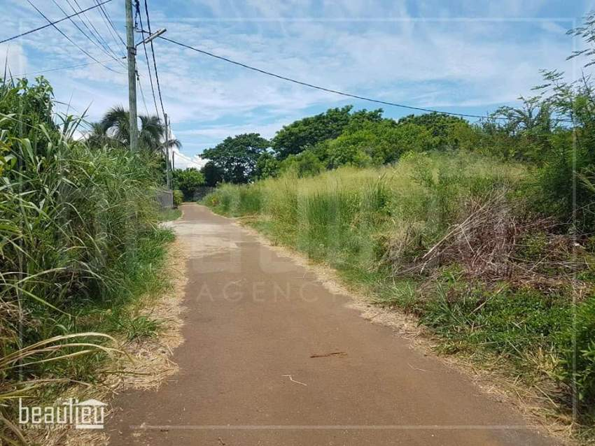 Residential land of 9 perches is for sale in Pointe Aux Piments