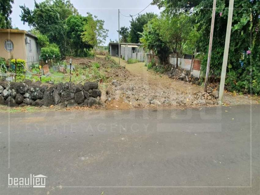 Residential land of 21 Perches is for sale in Melville, Grand Gaube
