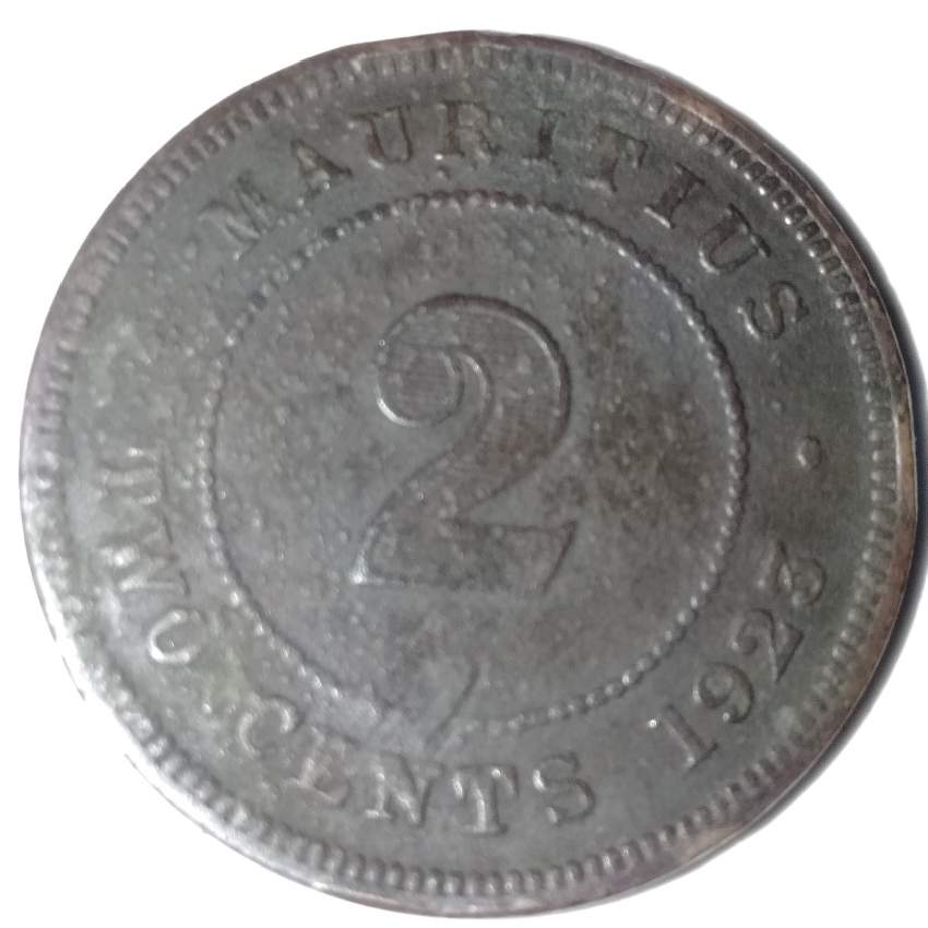 2 cents coin 1925 - Old stuff at AsterVender