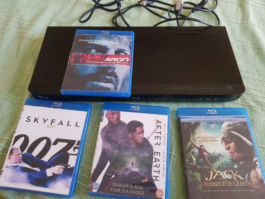 LG Blu Ray DVD DIVX player