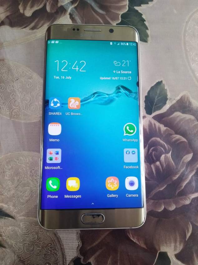 Portable S6 edge plus gold a vendre