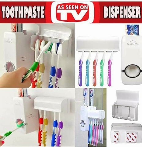Toothpaste dispenser - Toothpaste at AsterVender