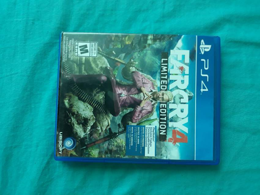 Far cry 4 limited edition - Other Indoor Sports & Games at AsterVender