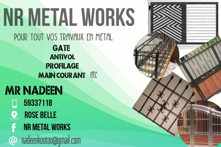 Best price on all metal works at AsterVender