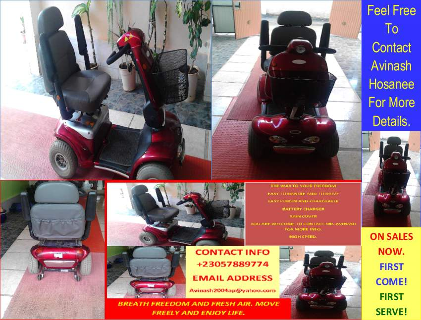 Electric wheelchair for invalids