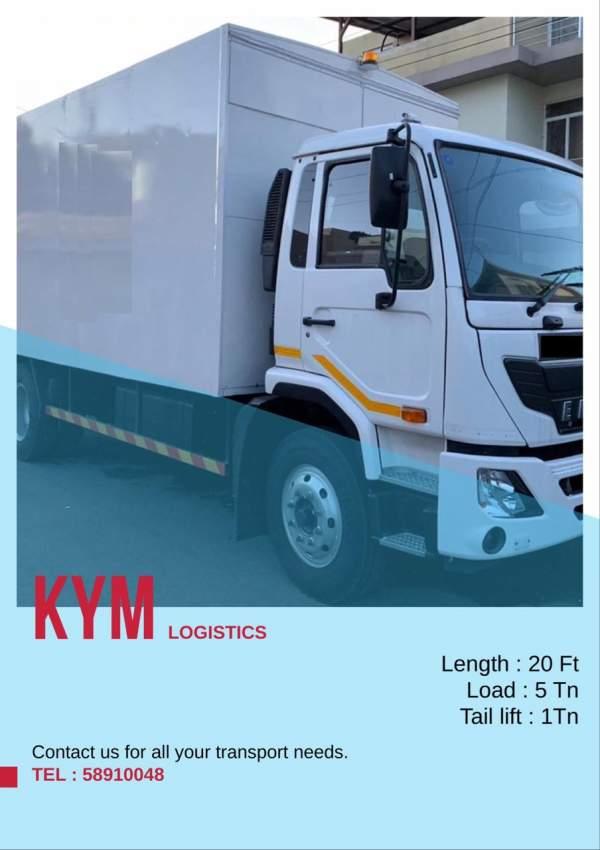 Rental of truck