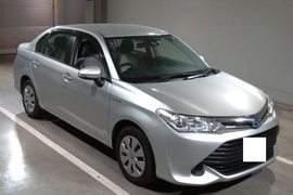 Toyota Axio X 2014 Silver 1500cc Japan