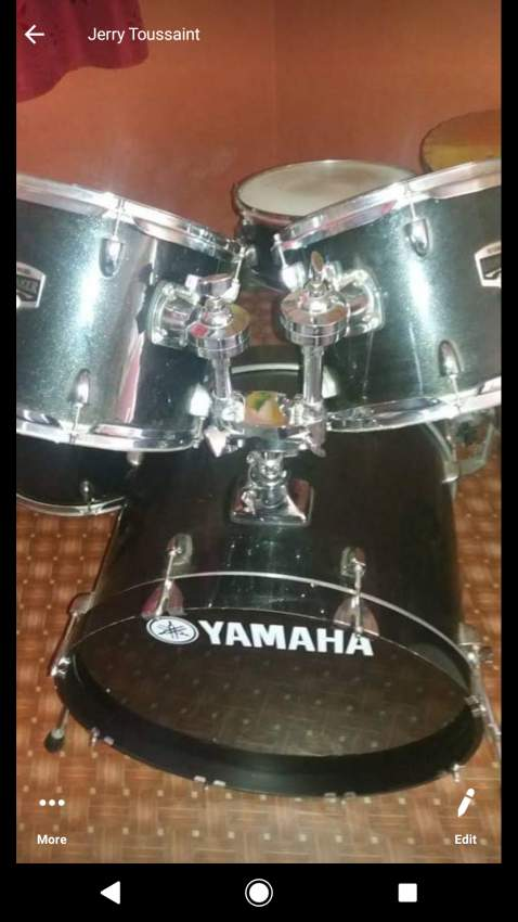 Yamaha Drums Set - Drums at AsterVender