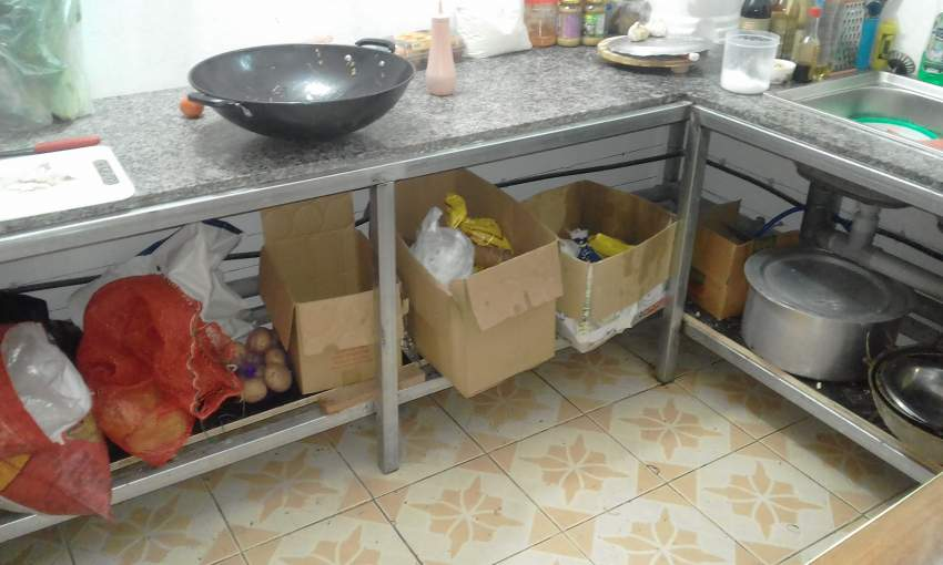 Snack product for sale and commercial space for rent.