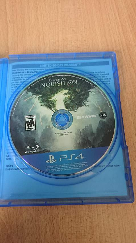 Dragon age inquisition  - PS4, PC, Xbox, PSP Games at AsterVender
