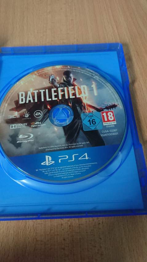 Battlefield 1 - PS4, PC, Xbox, PSP Games at AsterVender
