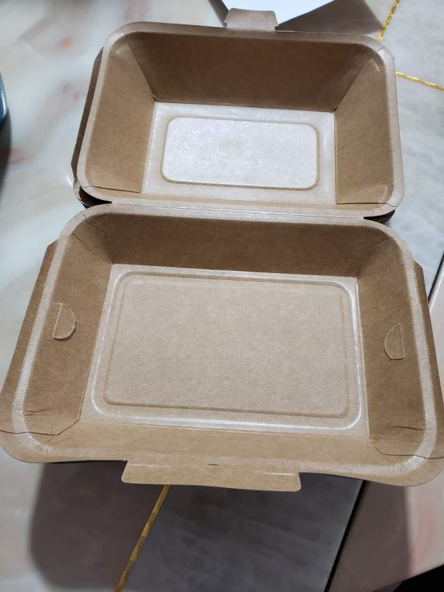 Paper lunch box take away  medium size  - Catering & Restaurant at AsterVender
