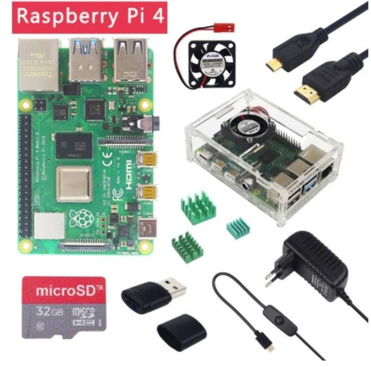 Raspberry Pi 4 modèle B 4GB RAM - All electronics products at AsterVender