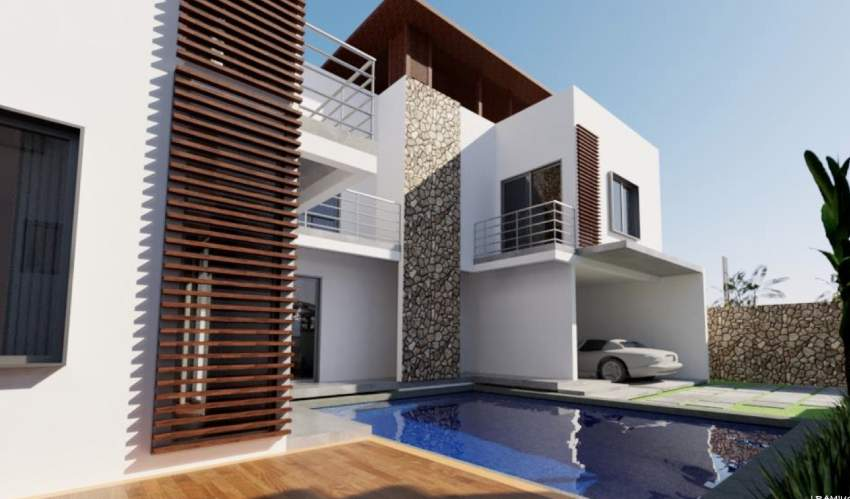 Trou aux Biches for sale project of 4 beautiful villas