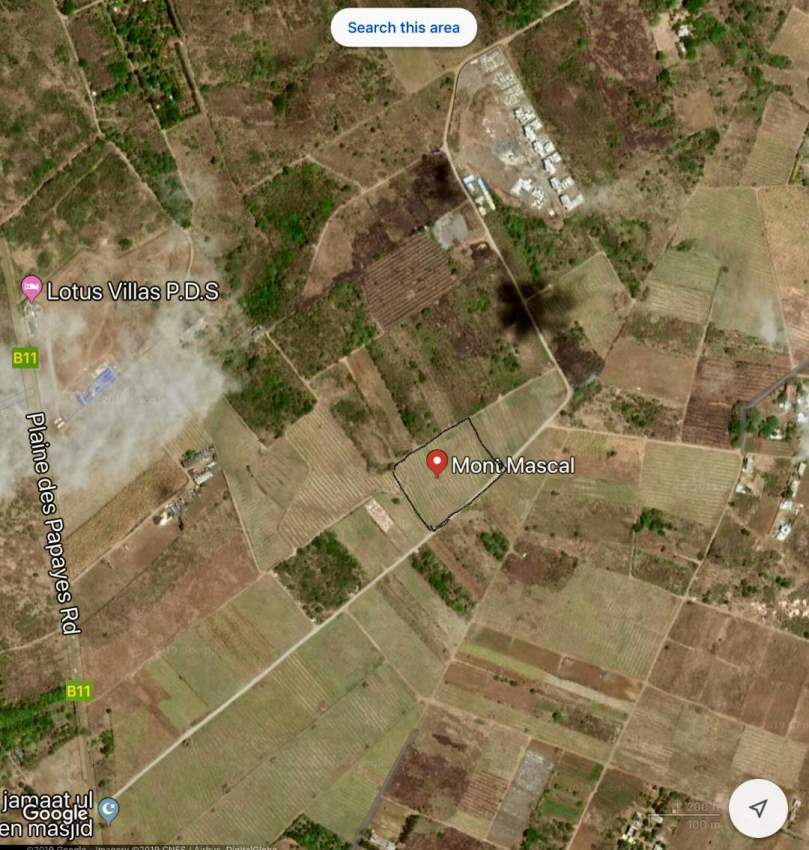 Private Sale of land for the construction of villas