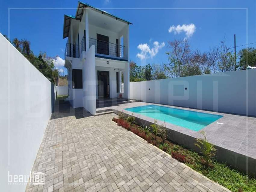 A fully furnished Villa is for sale la Salette,  G-Baie