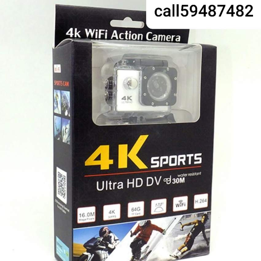 Action camera 4k wifi