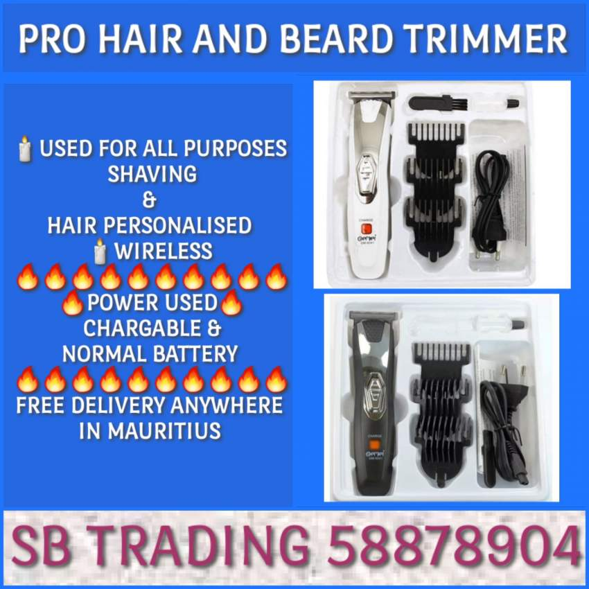 PRO HAIR AND BEARD TRIMMER