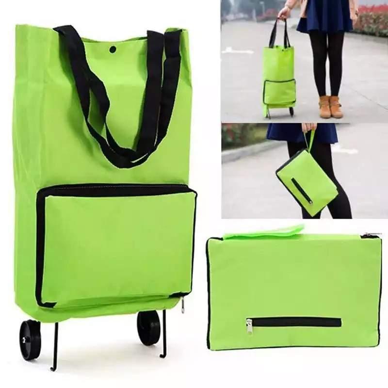Luggage bag trolley