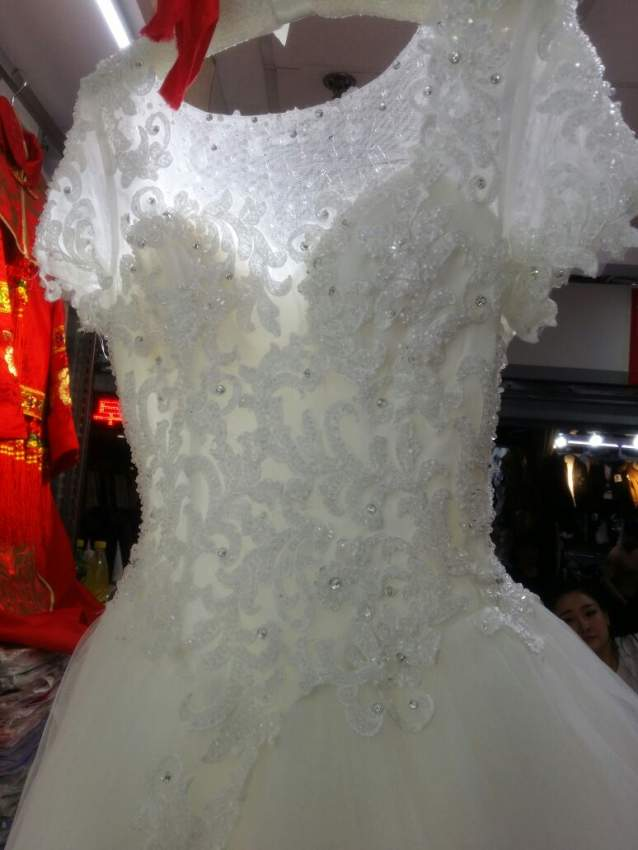 Wedding white new dress - Wedding clothes at AsterVender