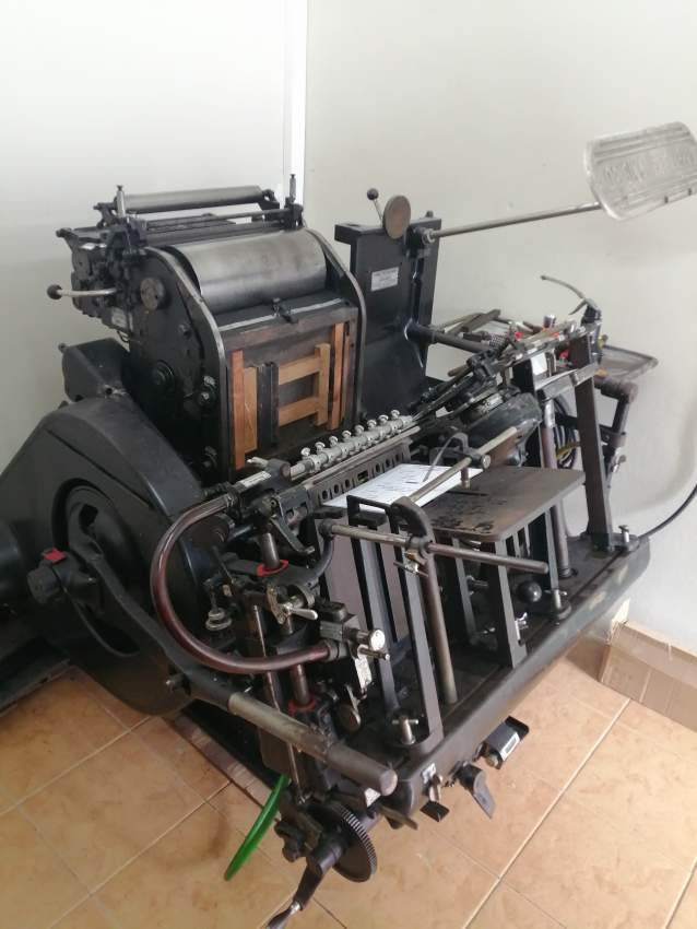 COMPLETE PRINTING PRESS - Press machine at AsterVender