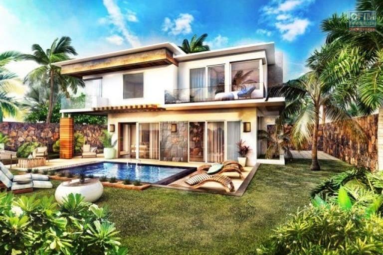 Villas avec piscine à  Grand Baie éligible a l'achat aux étrangers