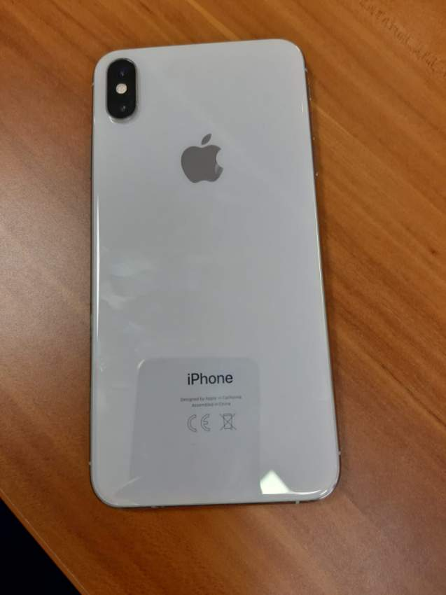 Iphone XS MAX 64 GB Silver - iPhones at AsterVender