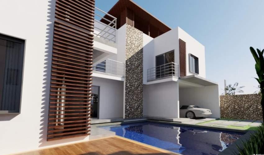 Trou Aux Biches  projet de 4 ravissantes villas proche de la plage